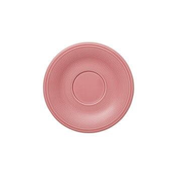 Color Loop Rose sous-tasse à café 15x15x2cm