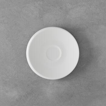NewMoon sous-tasse pour tasse à expresso, blanche