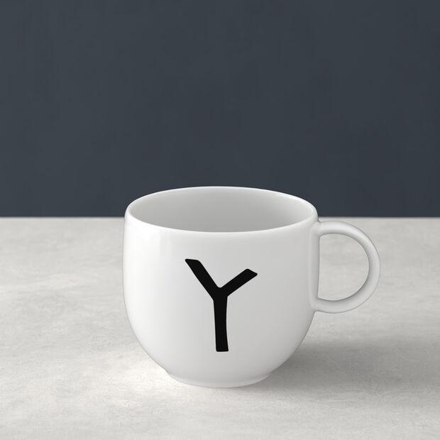 Mug Letters Y 13x10x8cm, , large
