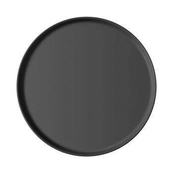 Iconic assiette universelle, noire, 24x2cm