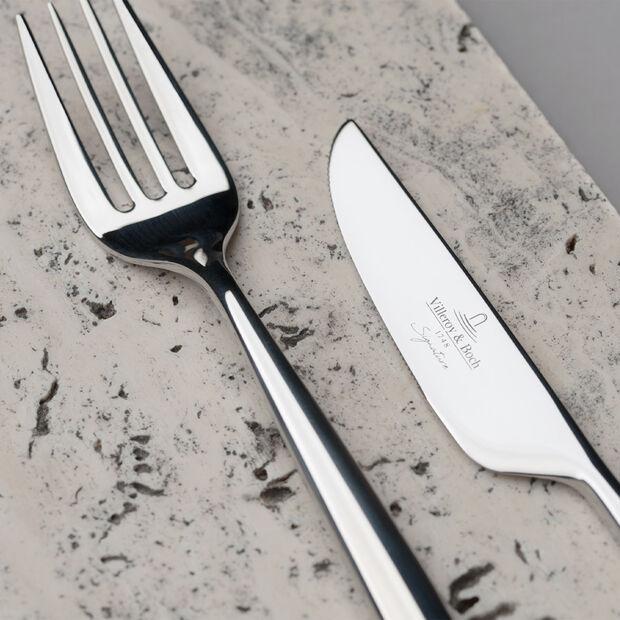 MetroChic fourchette de table, longueur 21cm, , large
