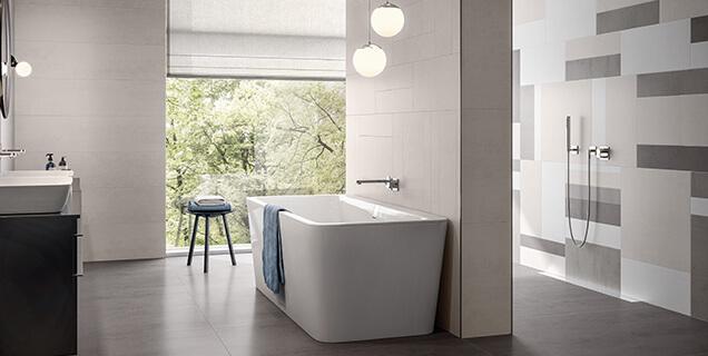 Agencer & meubler une grande salle de bains avec style - Villeroy & Boch
