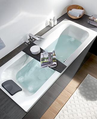 Agencer une petite salle de bains avec baignoire - Villeroy & Boch