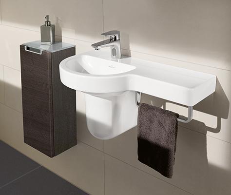 Waschbecken Gäste Wc gästebad mehr komfort für ihre gäste villeroy boch