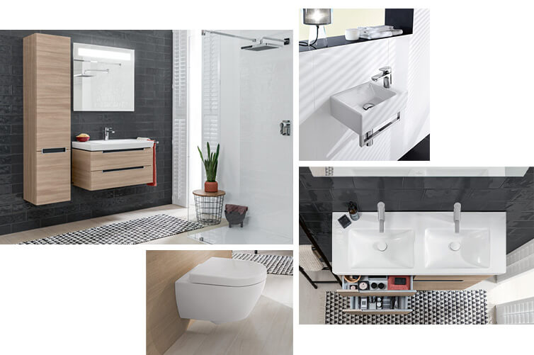 Salle de bain pour invités Villeroy & Boch - des solutions d ...