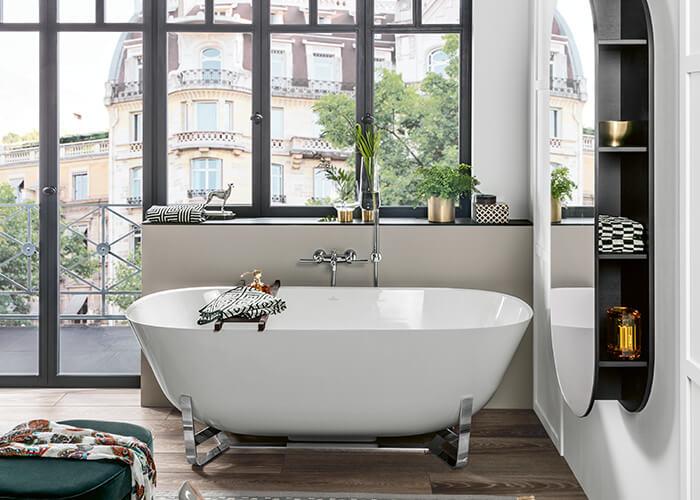 lquipement ne constitue pas lui seul une salle de bain dtente les matriaux coloris et accessoires utiliss procurent une ambiance de dtente
