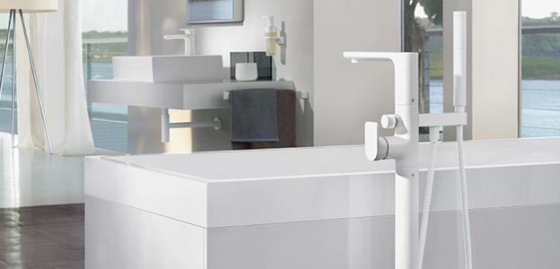 Robinetterie de baignoires Villeroy & Boch - un design puriste