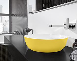 waschtische waschbecken von villeroy boch. Black Bedroom Furniture Sets. Home Design Ideas