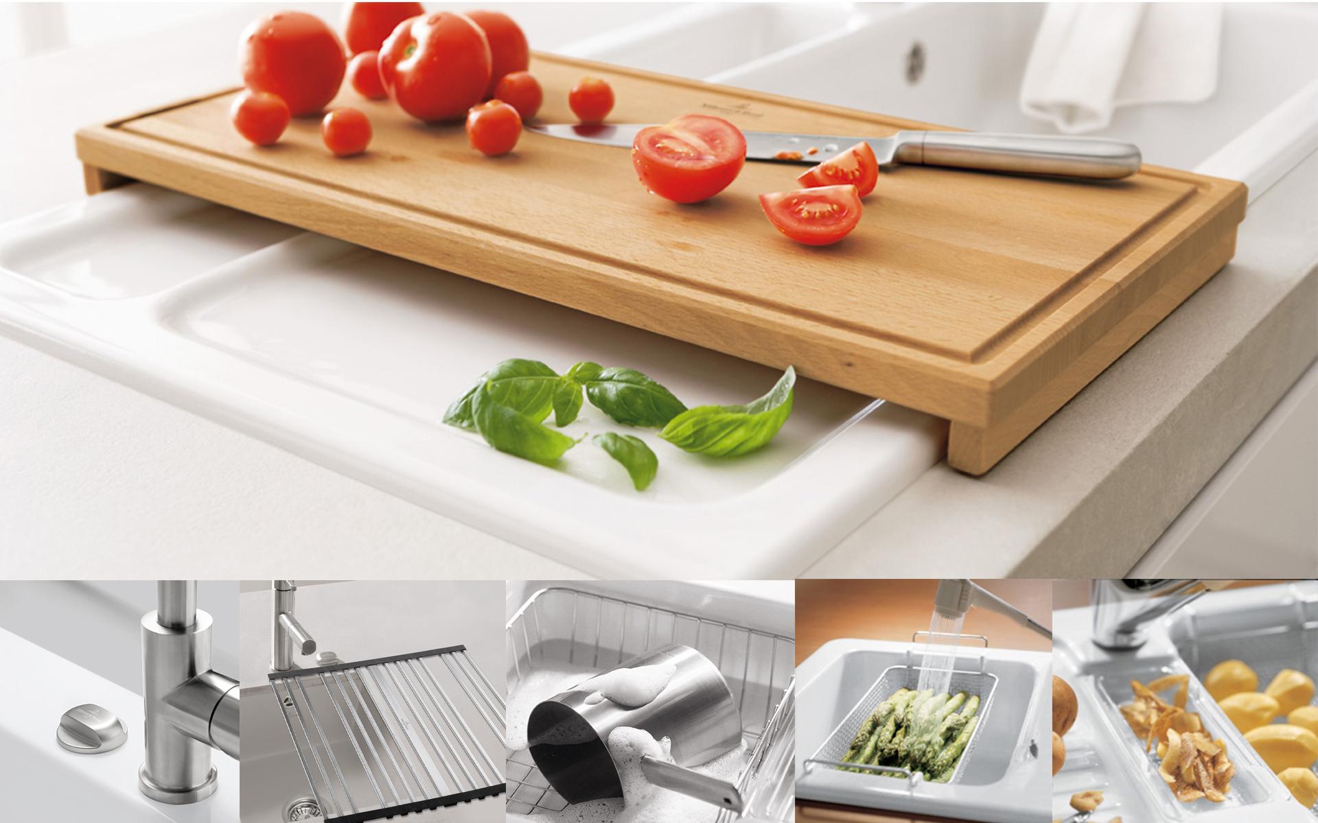 Accessoires de cuisine de villeroy boch pour une for Accessoires cuisine trudeau
