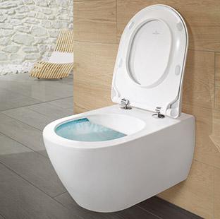 Toiletten wasser