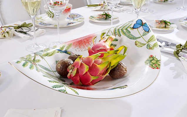 amazonia anmut - un service de table tropical - villeroy & boch