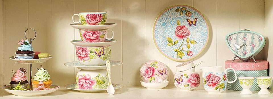 rose cottage la joie de vivre table villeroy boch. Black Bedroom Furniture Sets. Home Design Ideas