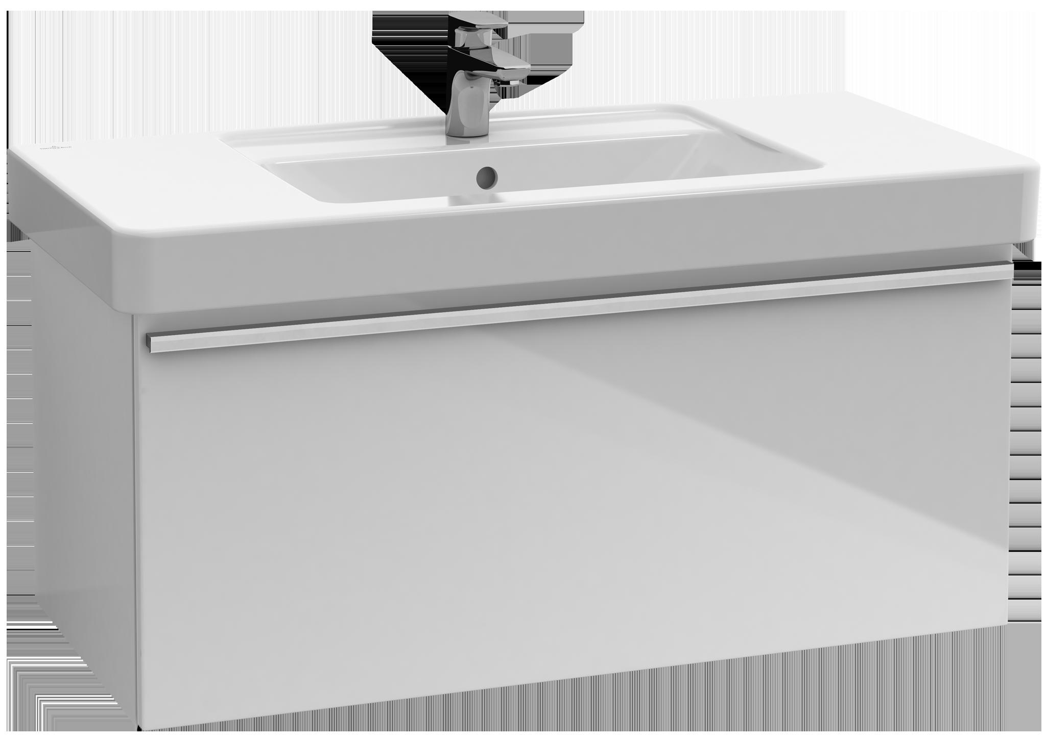 Central line meuble sous lavabo a273p2 villeroy boch for Meuble sous lavabo fly