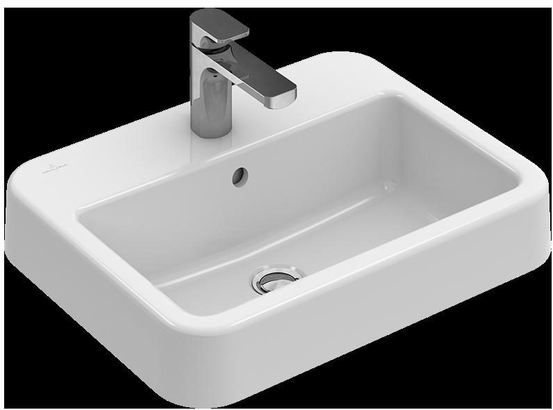 Architectura Einbauwaschtisch Eckig 419355 - Villeroy & Boch | {Villeroy und boch waschbecken rund 81}