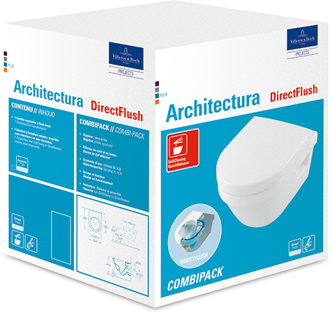 Architectura Combi-Pack 4687HR - Villeroy & Boch