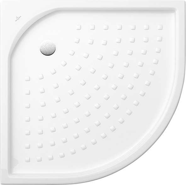 receveur de douche quart de rond quart de rond 620990 villeroy boch. Black Bedroom Furniture Sets. Home Design Ideas