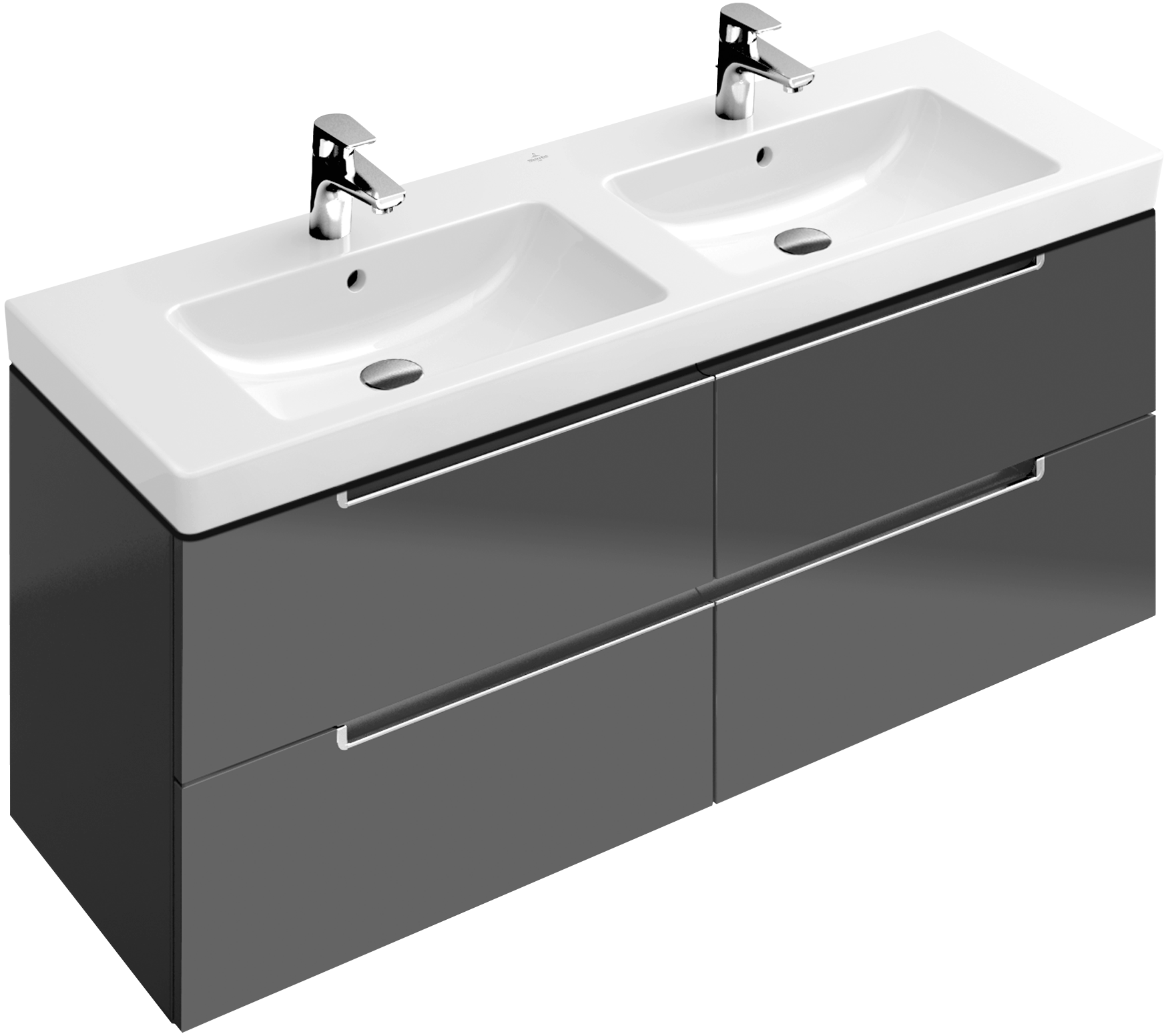 Subway 2 0 meuble sous lavabo a69910 villeroy boch for Meuble sous lavabo fly