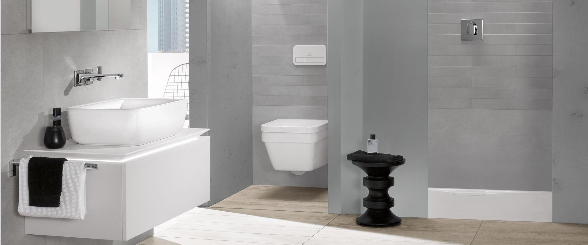 architectura - zeitloses design fürs bad - villeroy & boch - Badezimmer Villeroy Boch