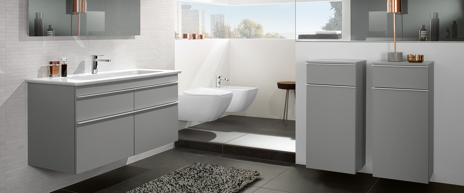 kollektion venticello von villeroy boch design auf. Black Bedroom Furniture Sets. Home Design Ideas